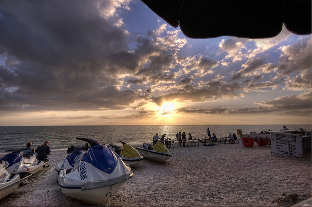 florida strand barefoot beach