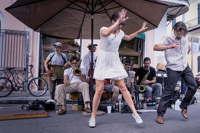 jazz new orleans straßenmusiker