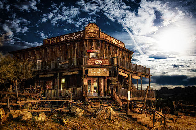 geisterstadt usa goldfield ghost town arizona