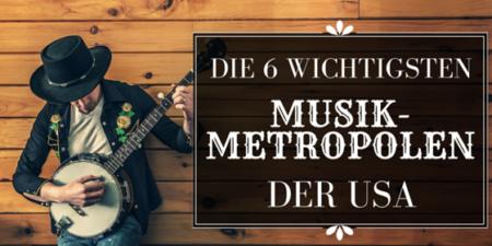musik städte metropolen usa