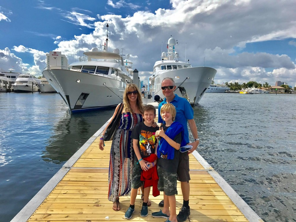 wolfgang gäbler boat show Fort Lauderdale