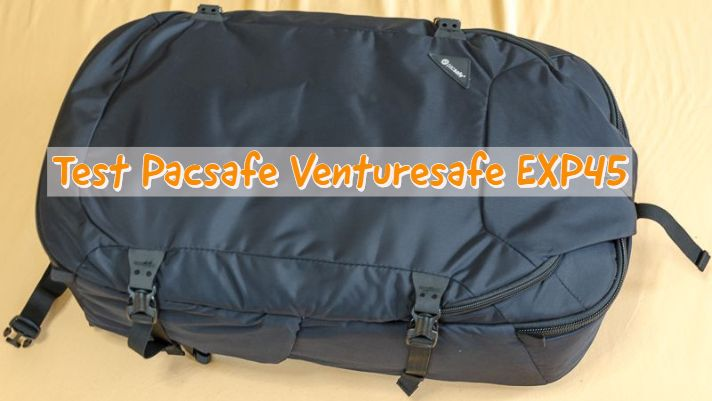 handgep ck rucksack test pacsafe venturesafe exp45 usa. Black Bedroom Furniture Sets. Home Design Ideas